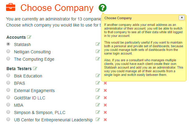 Choose Company
